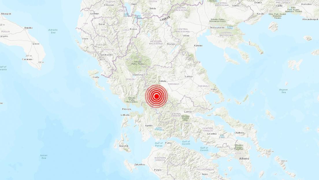 Un sismo de magnitud 5,2 sacude Grecia