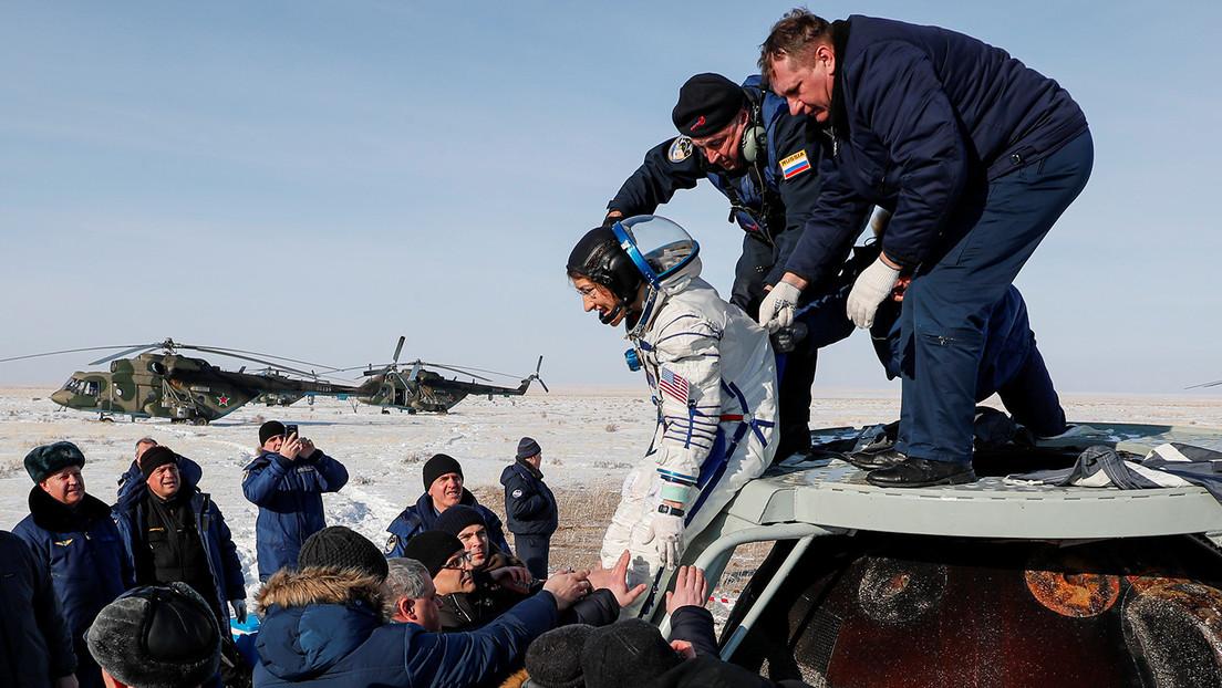 VIDEO: Tres tripulantes de la EEI regresan a la Tierra