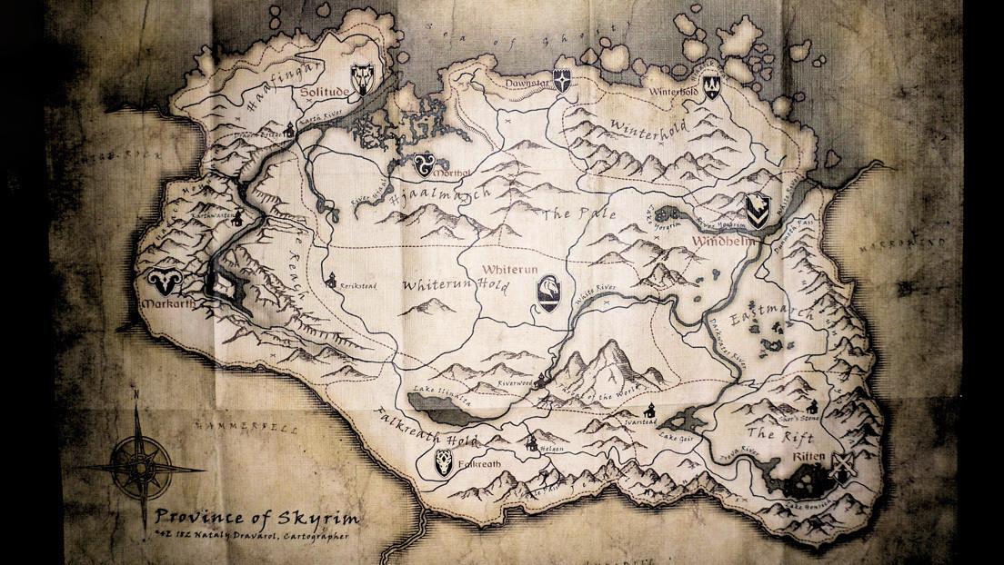 Primero Keanu Reeves y ahora el mapa de un videojuego para enseñar materias en las escuelas de Ucrania