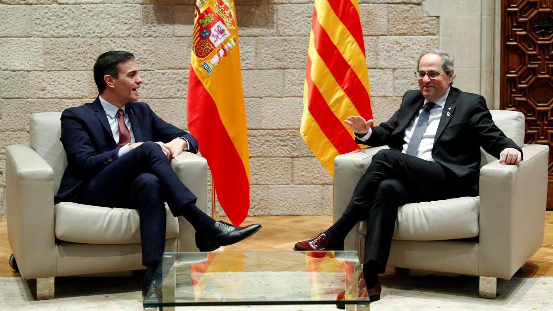 Por qué la reunión de Pedro Sánchez con el presidente de Cataluña es tan importante como polémica