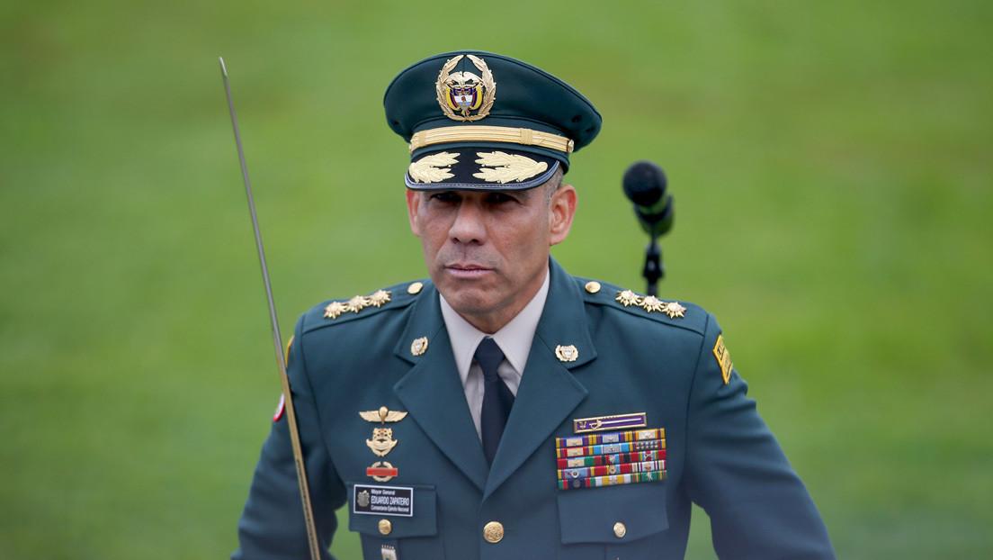 """Comandante del Ejército colombiano sobre la muerte del exsicario de Escobar: """"Lamentamos mucho la partida de 'Popeye'"""""""