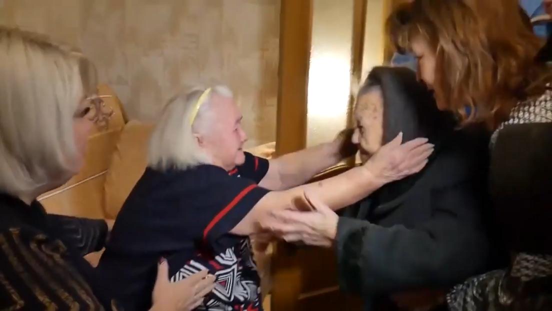 Dos hermanas separadas por la batalla de Stalingrado se reencuentran 78 años después