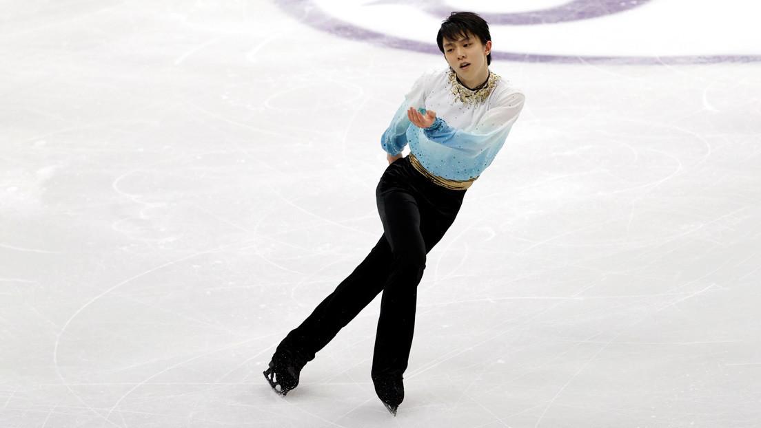 VIDEO: Un patinador japonés bate el récord mundial en el programa corto de patinaje artístico sobre hielo
