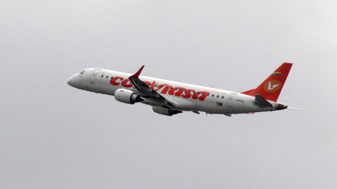 EE.UU. impone sanciones contra aeronaves de la estatal venezolana Conviasa