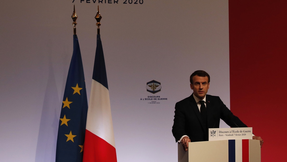 """Macron alerta sobre una nueva carrera de armamentos: """"Los europeos no pueden permanecer como espectadores"""""""