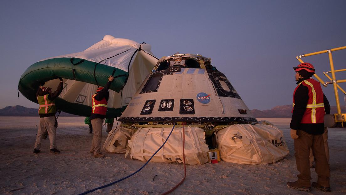 """La NASA detecta """"problemas fundamentales"""" en el 'software' de la nave espacial Starliner de Boeing que no logró acercarse a la EEI"""