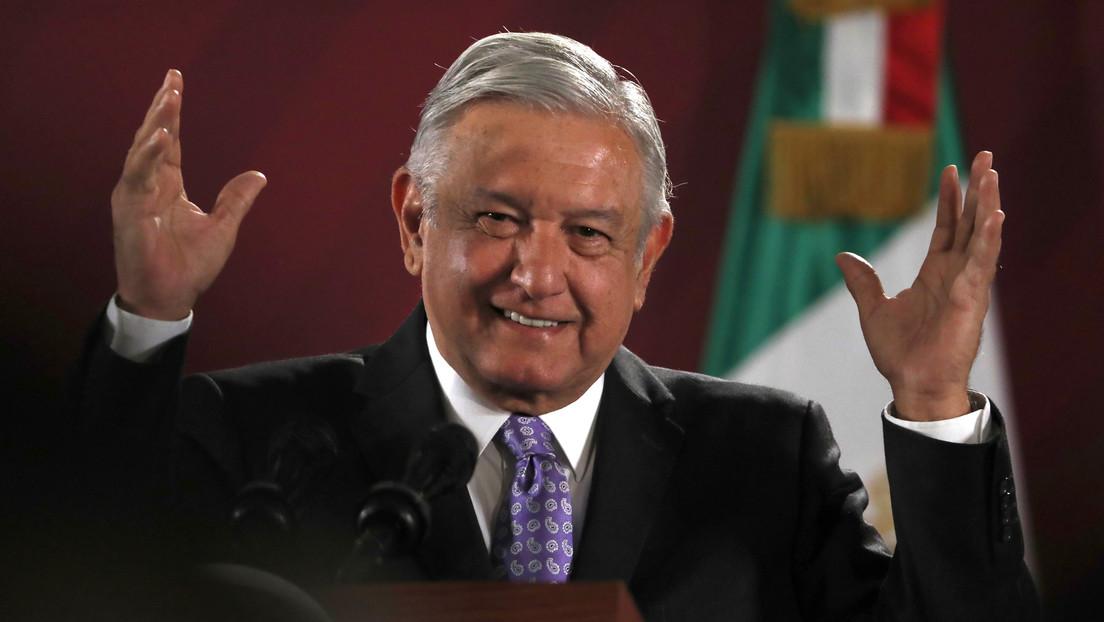 """""""¡Se acabó el bandidaje oficial!"""": López Obrador se jacta de que """"arriba no hay corrupción"""""""