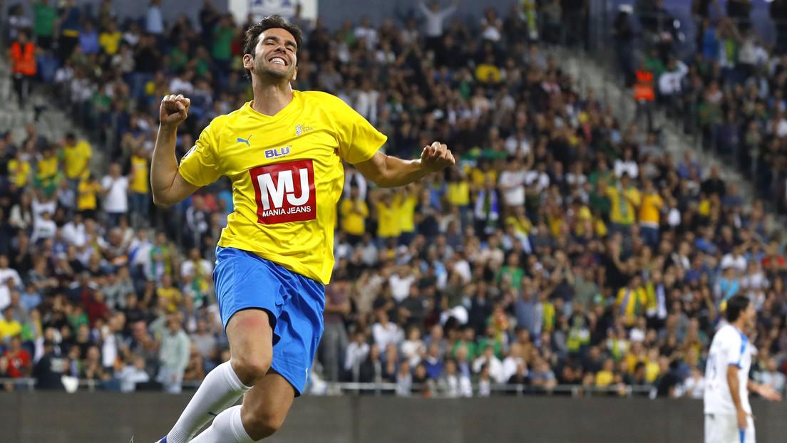 """""""Fue algo surrealista"""": Un joven futbolista amateur 'humilla' a la exestrella brasileña Kaká con un caño en una pachanga (VIDEO)"""