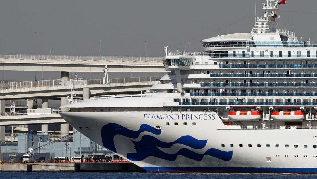 Confirman 60 nuevos casos de coronavirus en el crucero en cuarentena cerca de Tokio