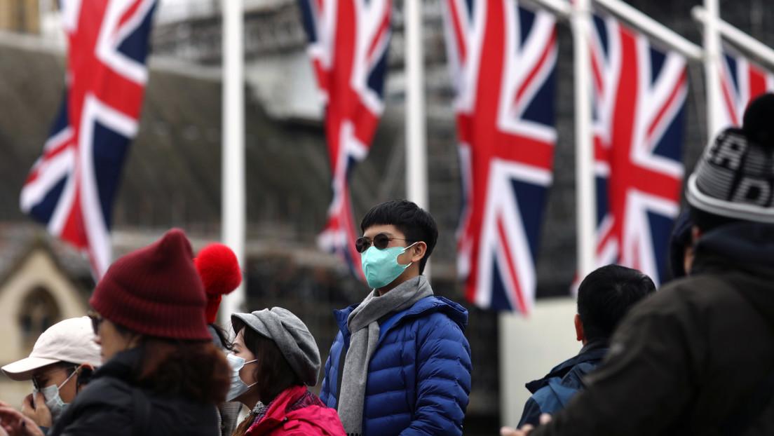 "El Reino Unido declara al coronavirus como una ""amenaza grave e inminente"""