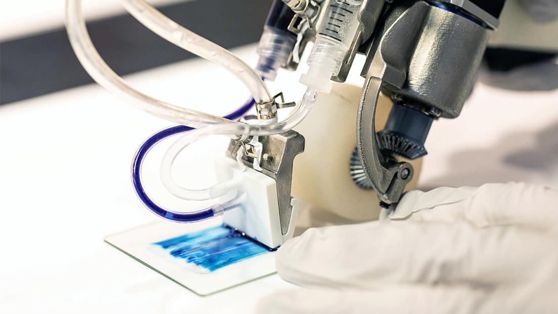 VIDEO: Desarrollan una impresora 3D portátil que imprime piel sobre las quemaduras