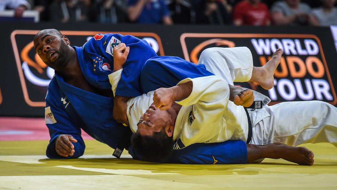 La leyenda del judo Teddy Riner pierde por primera vez en casi 10 años