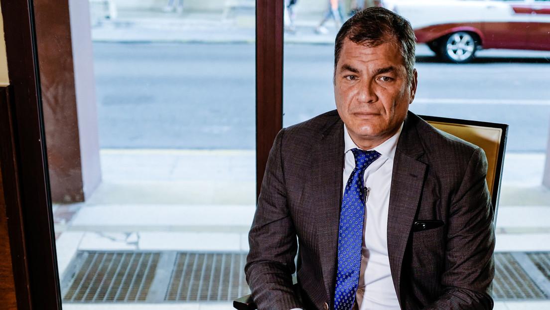 """Correa sobre el juicio en su contra en Ecuador: """"Están desesperados para evitar mi participación en las próximas elecciones"""" (VIDEO)"""
