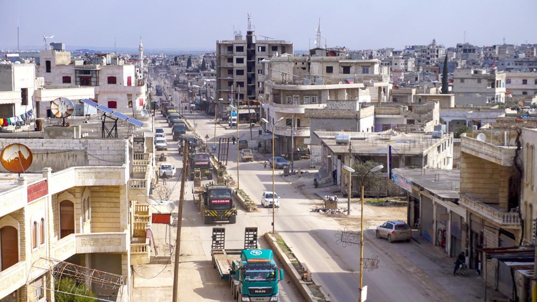 Turquía ataca varios objetivos del Ejército sirio en respuesta al bombardeo de su puesto militar en Idlib