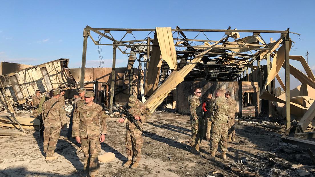 EE.UU. confirma que 109 de sus militares sufrieron lesión cerebral traumática tras el ataque de Irán contra su base en Irak