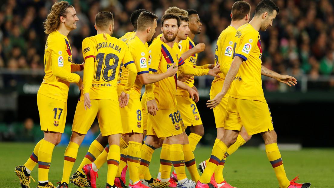 VIDEO: La curiosa 'terapia' anímica de Messi a sus compañeros antes de salir a verse las caras con los rivales
