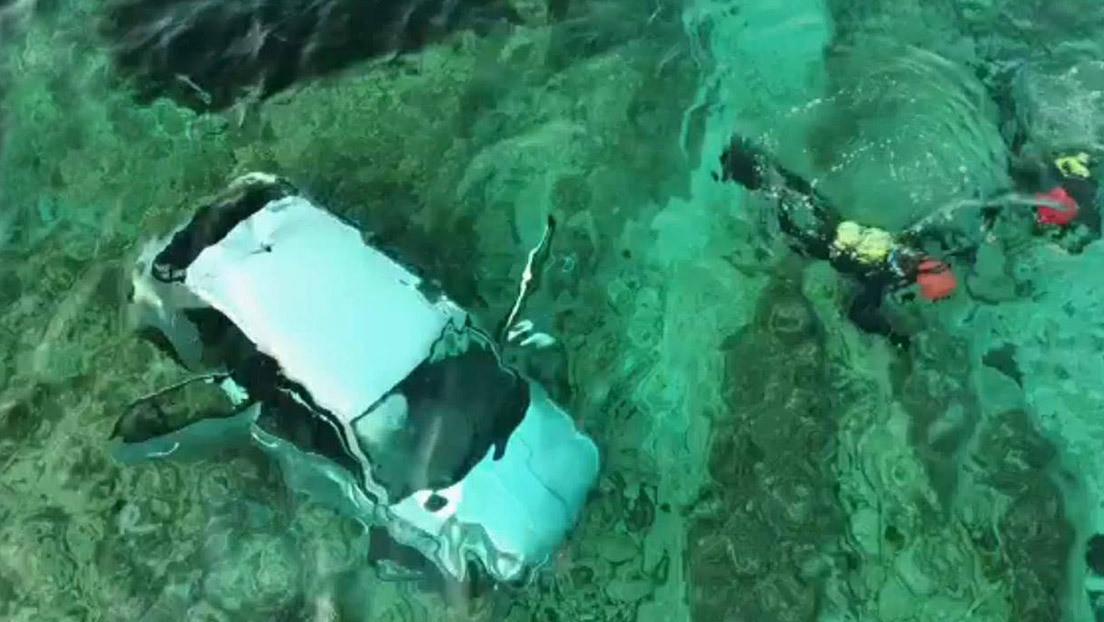 VIDEO: Un conductor drogado sobrevive tras caer al mar a 200 kilómetros por hora desde un acantilado en España