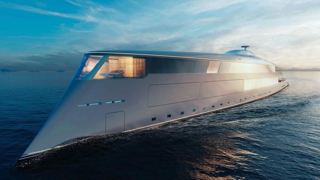 Empresa diseñadora niega la venta de un futurista yate de 644 millones a Bill Gates