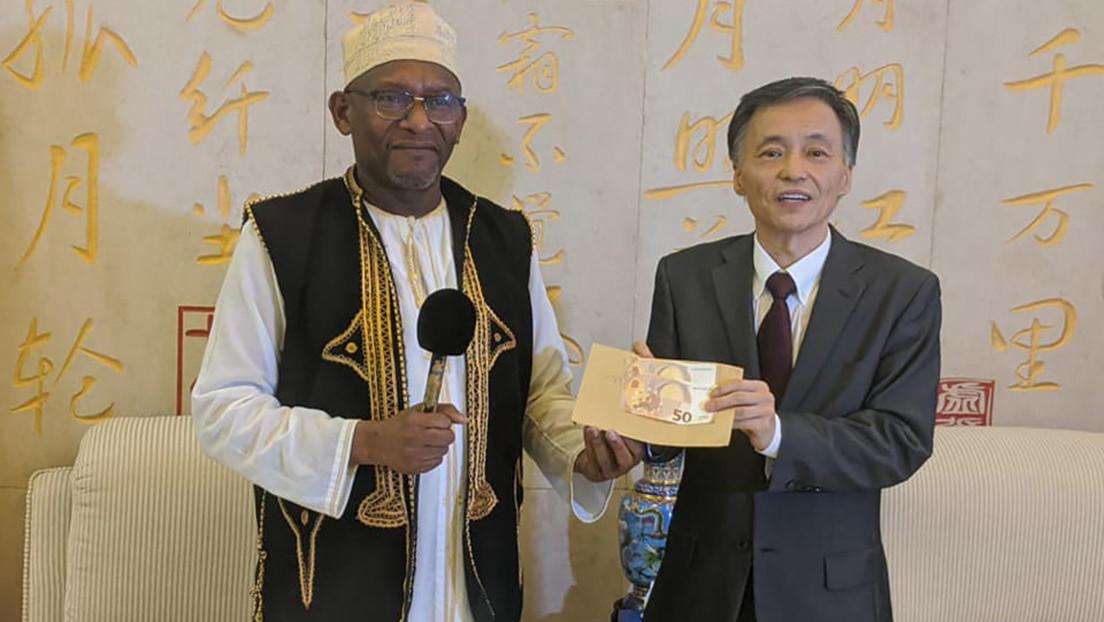 Una asociación de un pequeño país africano dona 100 euros a China para ayudar a combatir el coronavirus