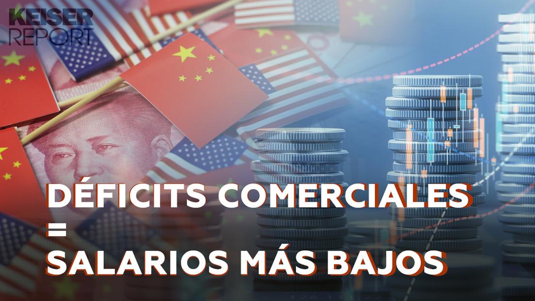 El déficit comercial de EE.UU. con China es lo que mantiene al dólar como divisa de reserva mundial