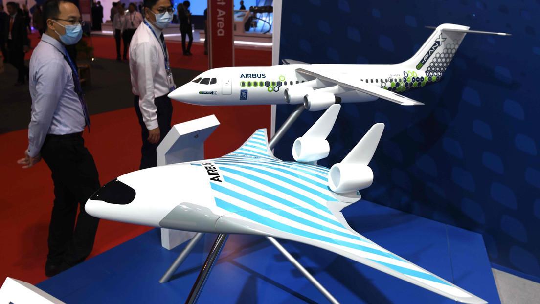 Airbus desvela un futurístico avión de pasajeros que parece creado para viajes espaciales (VIDEO)