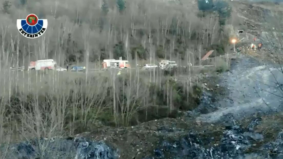 ¿Delito medioambiental y laboral? Dos trabajadores, sepultados en un vertedero en España desde hace 5 días