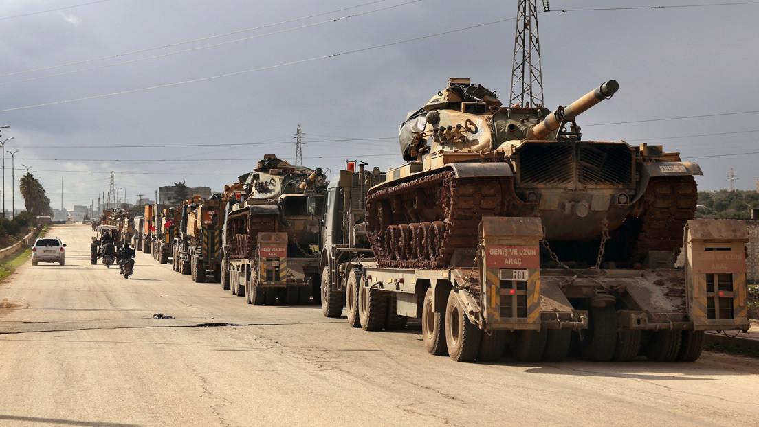 Rusia  afirma que la tensión en el noreste de Siria fue provocada por ataques coordinados de terroristas de Idlib contra las regiones vecinas