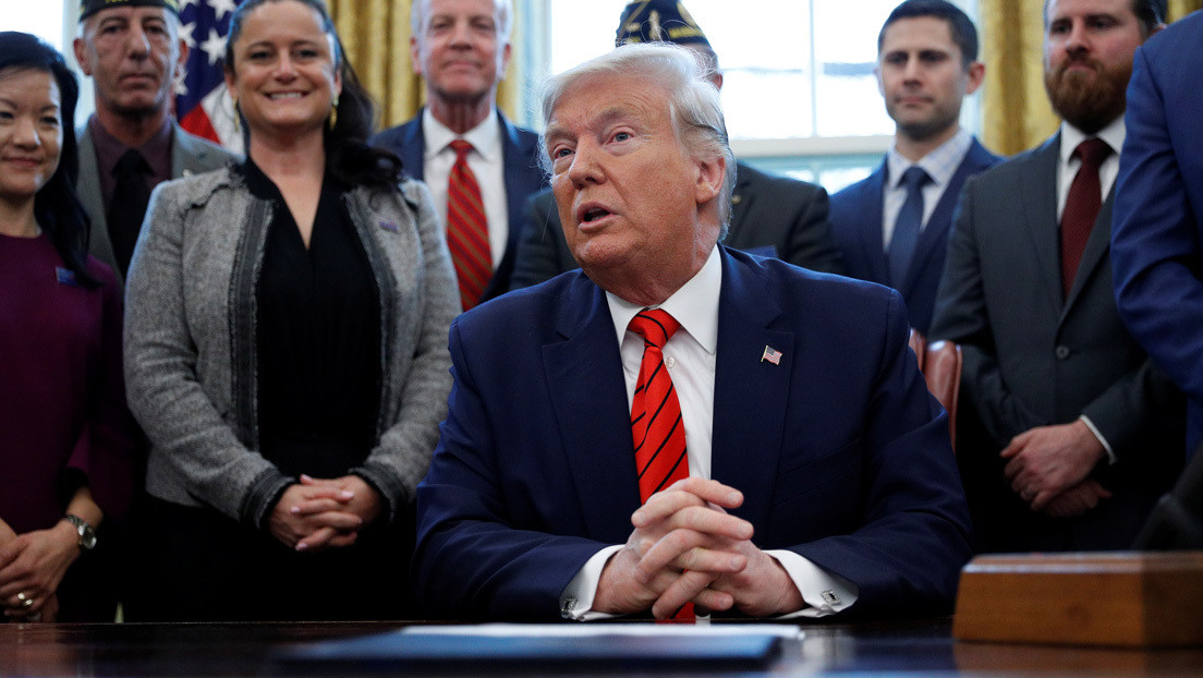Trump pide al Senado que no apruebe la resolución que limita su capacidad para emprender acciones militares contra Irán