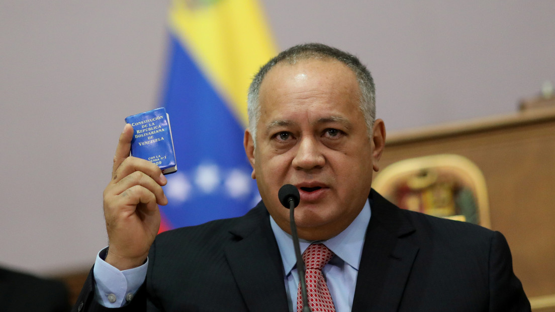 """Diosdado Cabello: """"El tío de Guaidó fue detenido por portar explosivos en un avión y mantuvo contactos con el Servicio Secreto de EE.UU."""""""