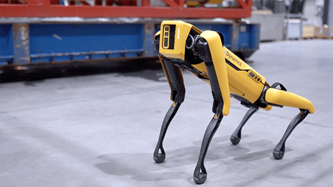 El robot de cuatro patas de Boston Dynamics encuentra trabajo en plataformas petroleras de Noruega (VIDEO)