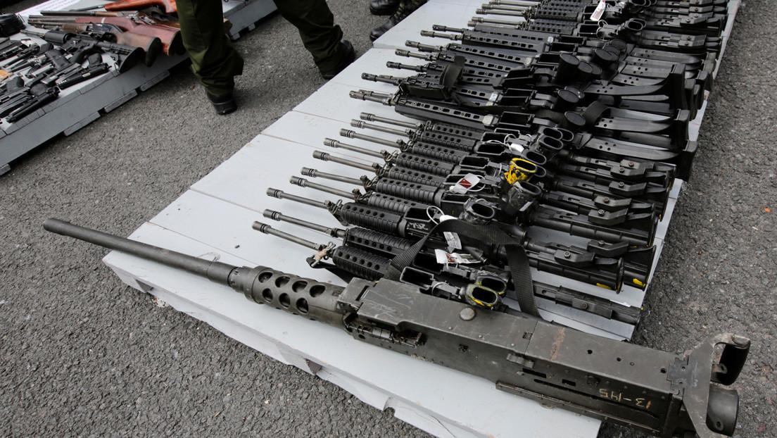 Decomisan en Ciudad de México un gran arsenal de armas presuntamente del Cártel de Sinaloa