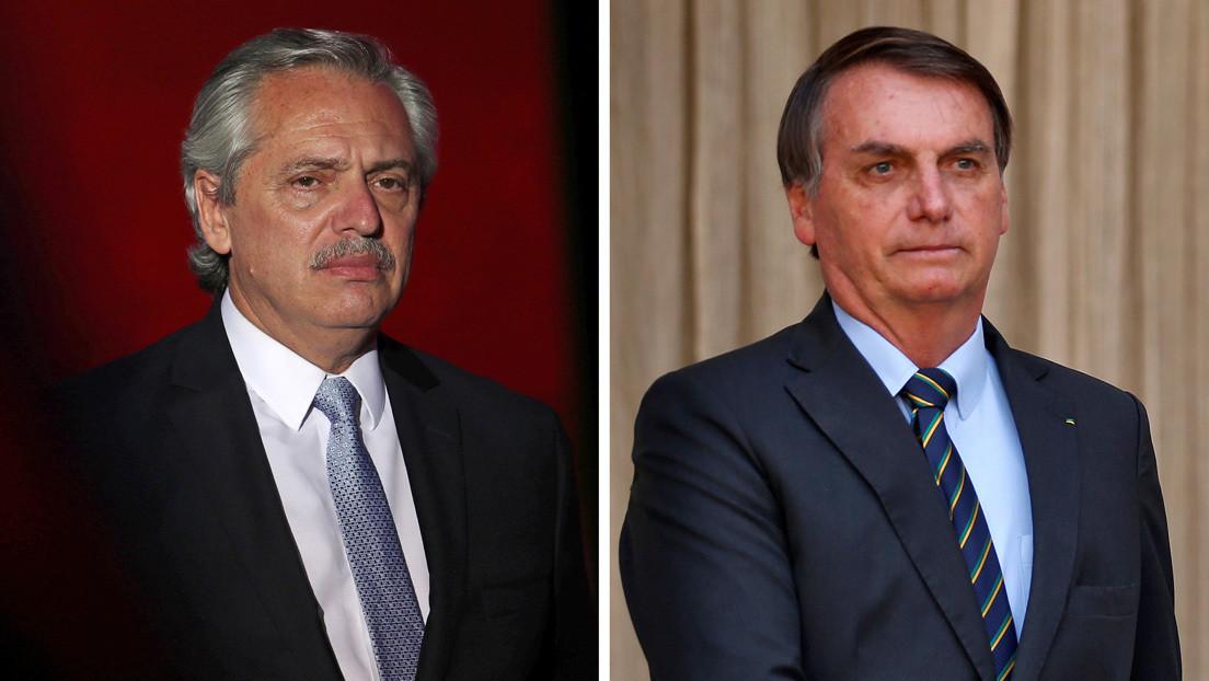 Alberto Fernández dice que no podrá reunirse con Bolsonaro el 1 de marzo en Montevideo