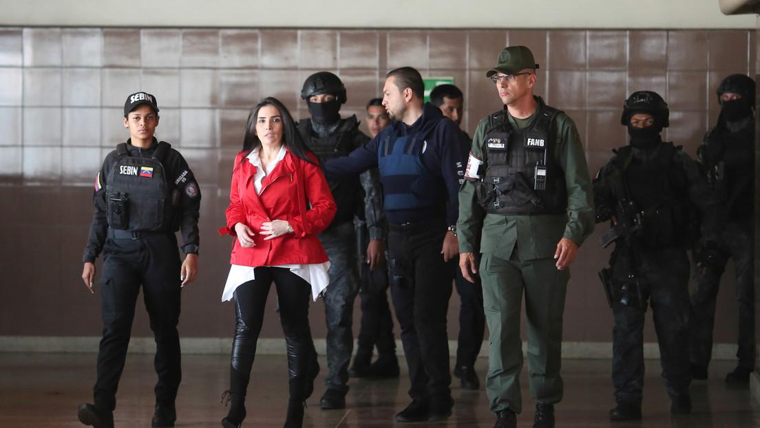 Cancillería de Colombia pide oficialmente a Juan Guaidó la extradición de la excongresista Aída Merlano
