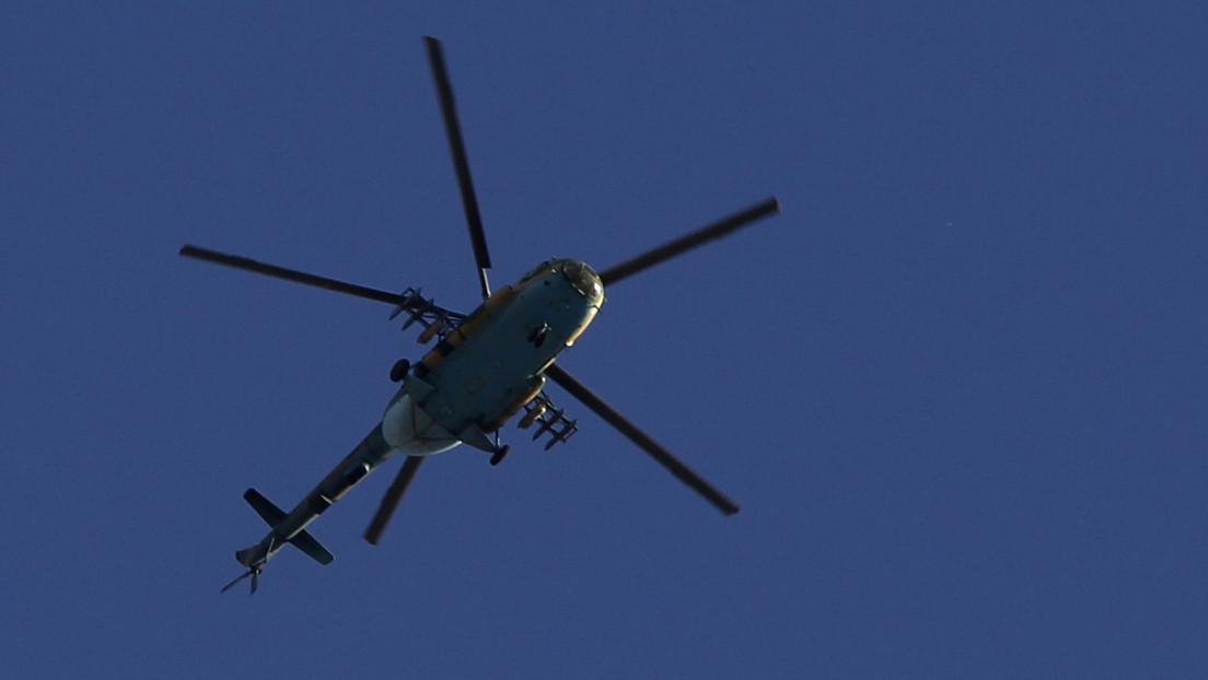 Derriban un helicóptero del Gobierno sirio en la región de Idlib