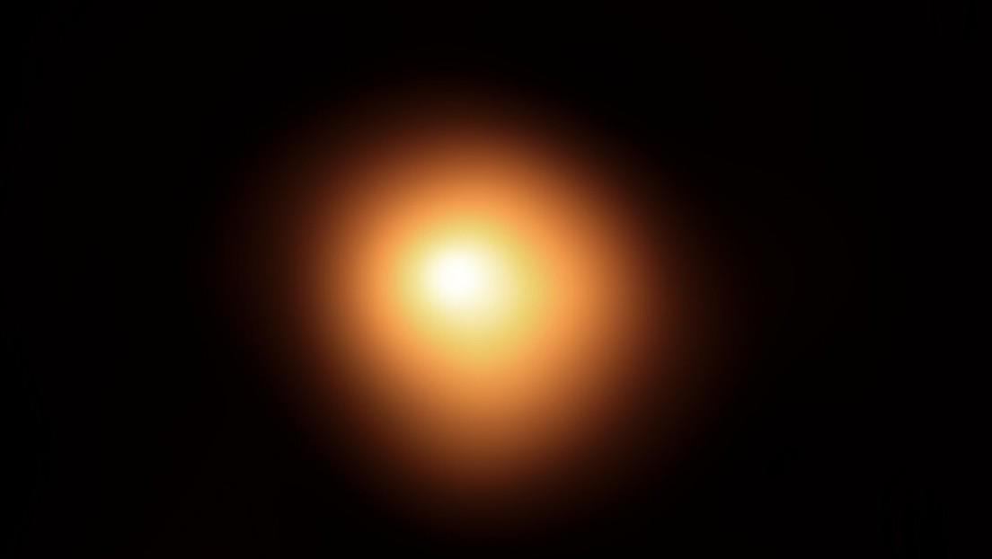 Nuevas imágenes revelan el estado crítico de la estrella supergigante roja — Betelgeuse