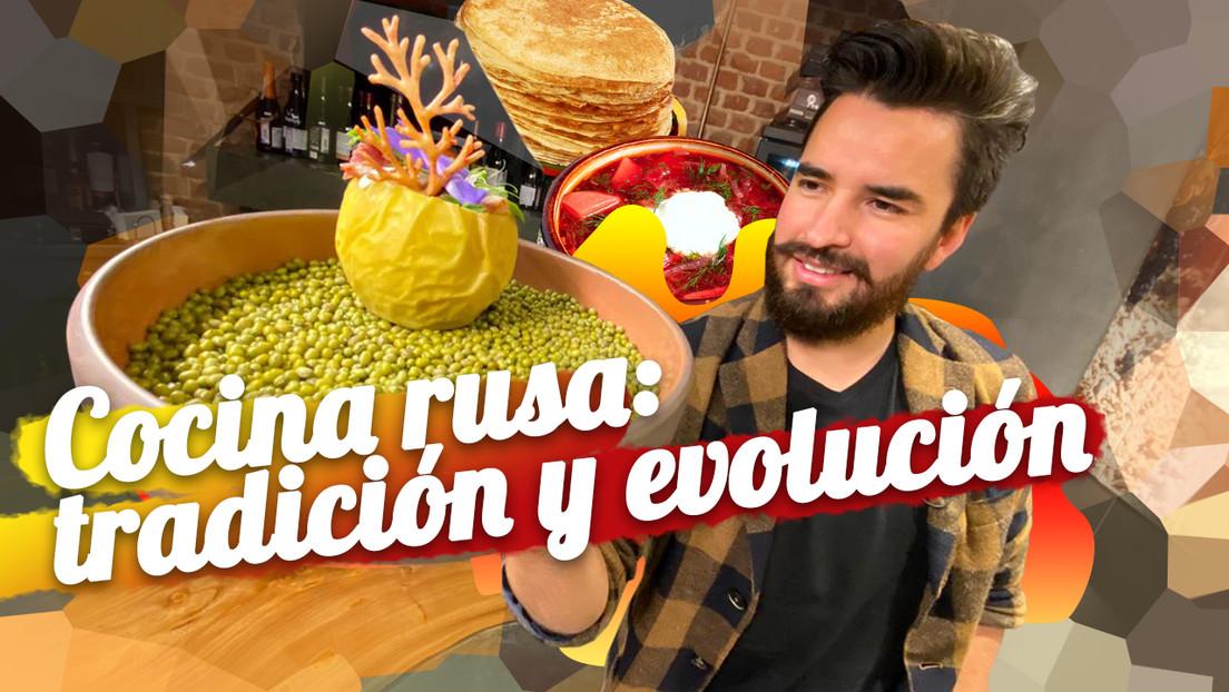 Cocina rusa: tradición y evolución