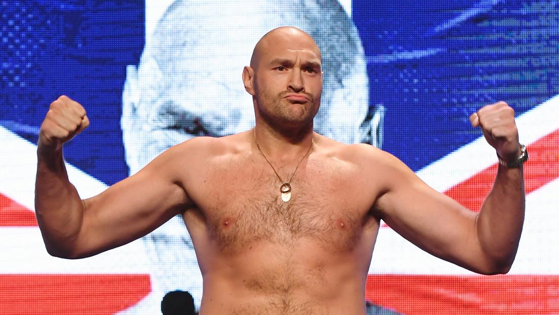 Tyson Fury revela su inusual método de entrenamiento de clasificación X para la revancha contra Deontay Wilder