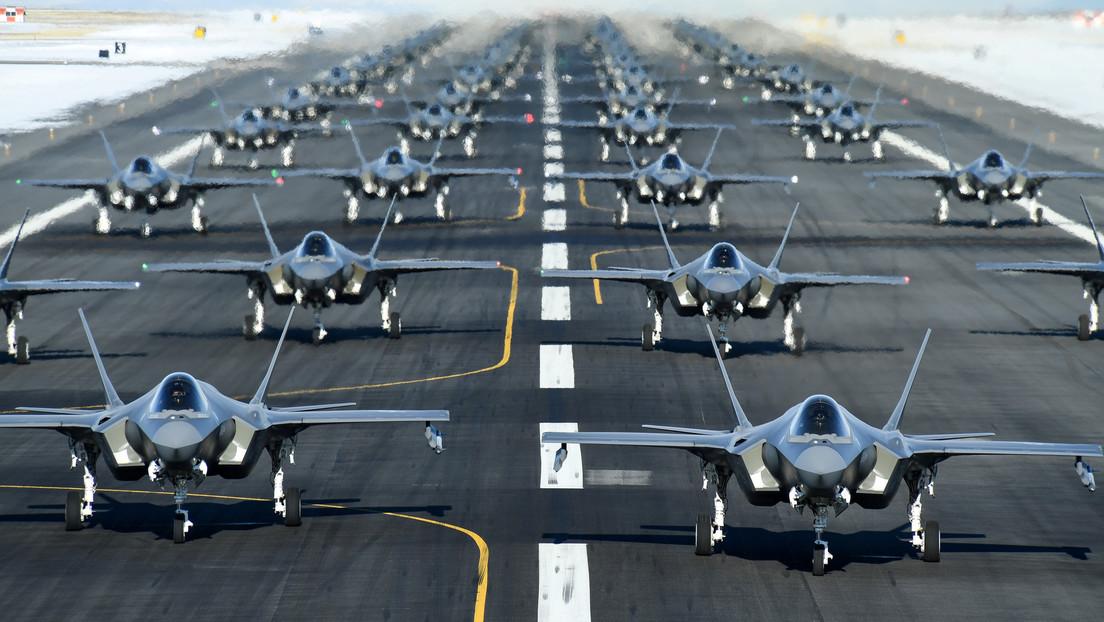 El presupuesto militar de EE.UU. eleva los gastos mundiales de defensa a un máximo de 10 años