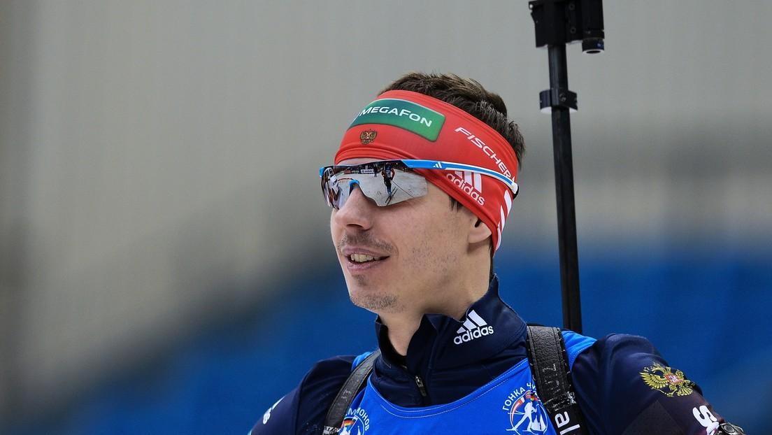 La Unión Internacional de Biatlón suspende por 2 años a dos biatletas rusos por acusaciones de dopaje
