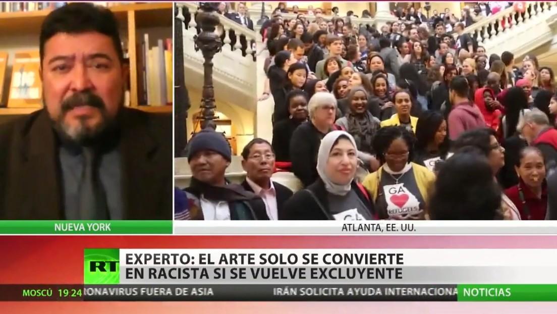 "Experto: ""El arte solo se vuelve racista si pasa a ser excluyente"""