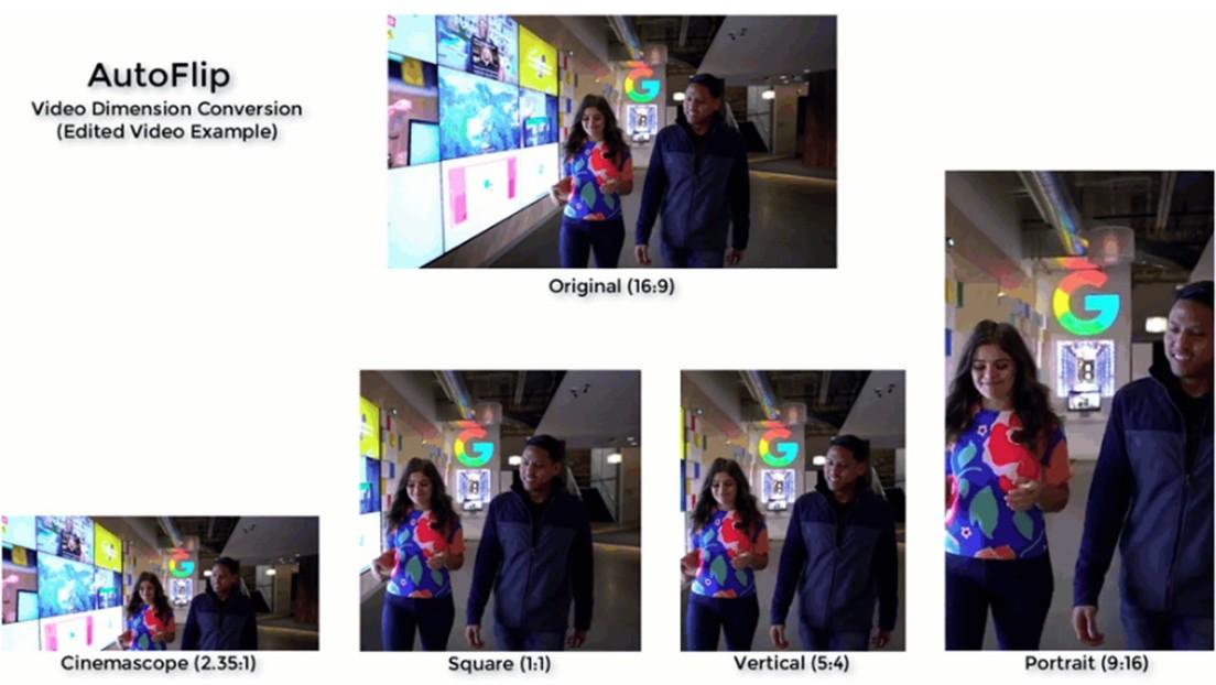 VIDEO: Google presenta una herramienta capaz de encuadrar un video automáticamente y así funciona