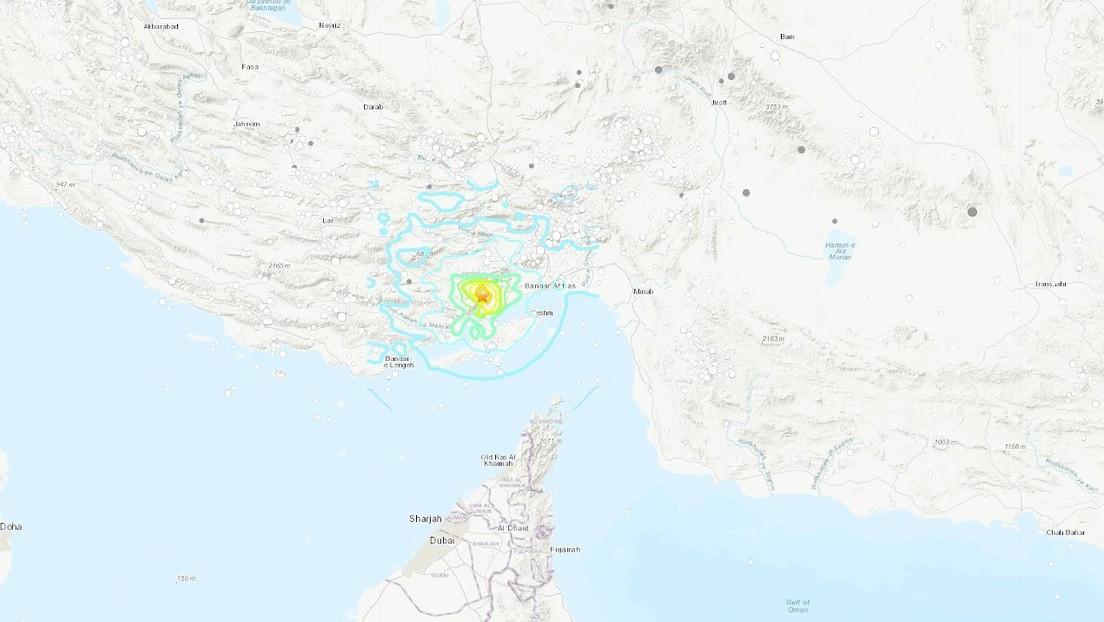 Un sismo de magnitud 5,5 sacude el sur de Irán