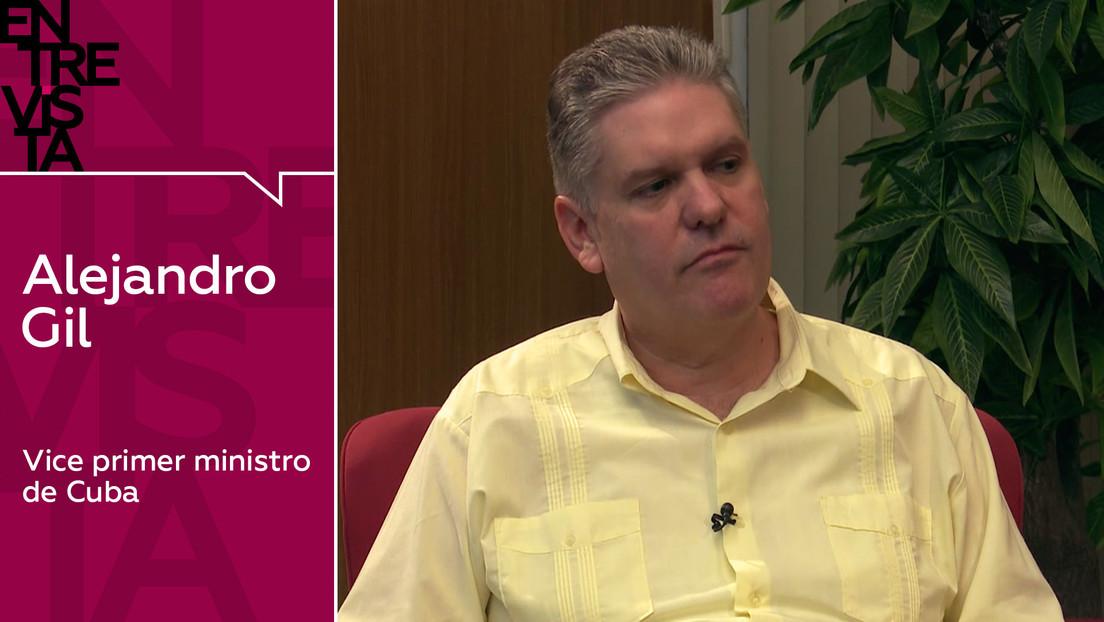 """Alejandro Gil, vice primer ministro de Cuba: """"Un modelo ineficiente no hubiese alcanzado nuestro desarrollo social"""""""
