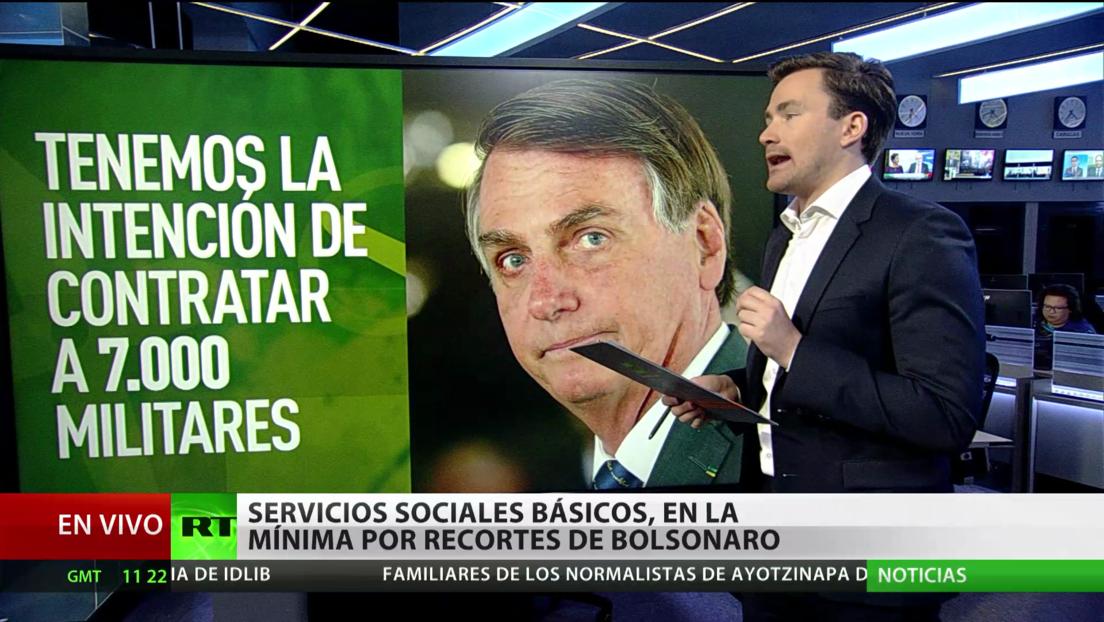 Brasil: Los servicios sociales básicos se reducen al mínimo por los recortes de Bolsonaro