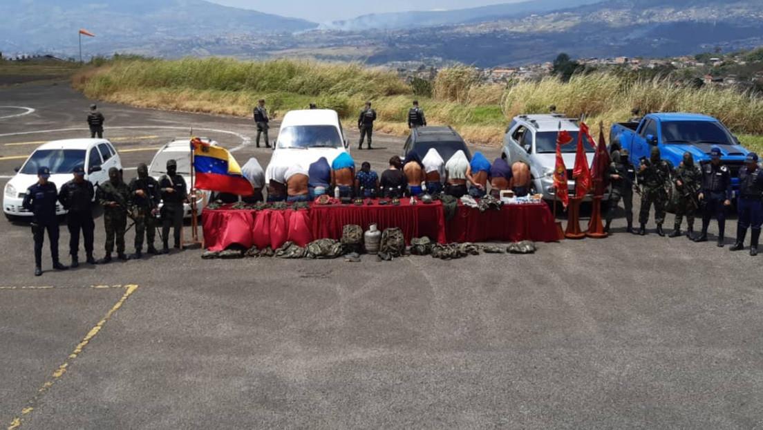 Capturan en Venezuela a 14 integrantes del grupo paramilitar colombiano Los Rastrojos
