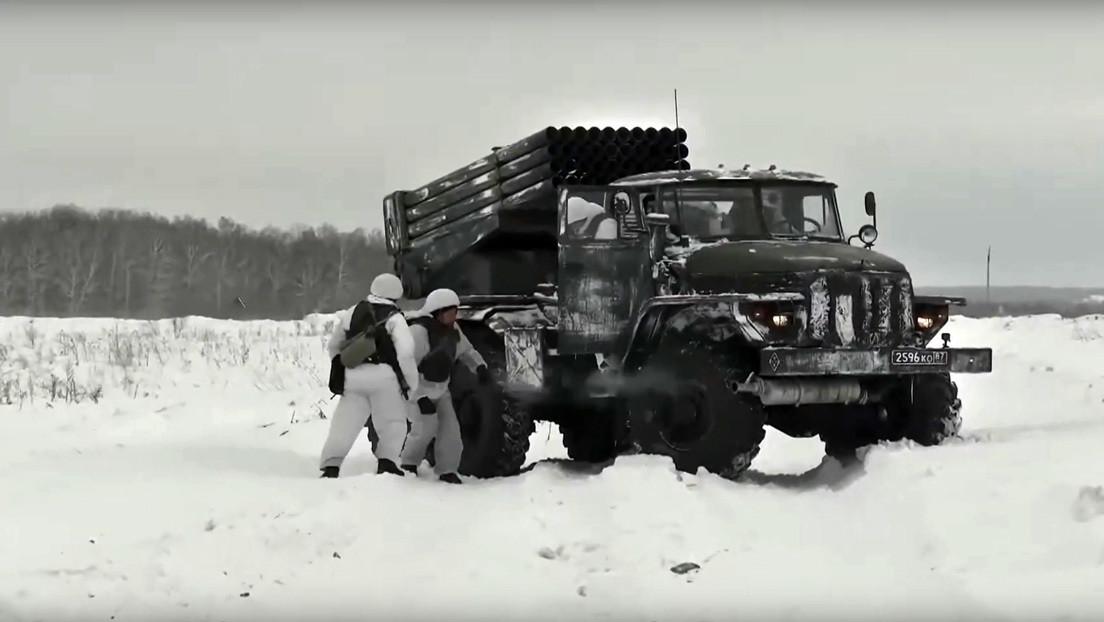 VIDEO: Rusia muestra cómo operan sus sistemas modernizados Grad
