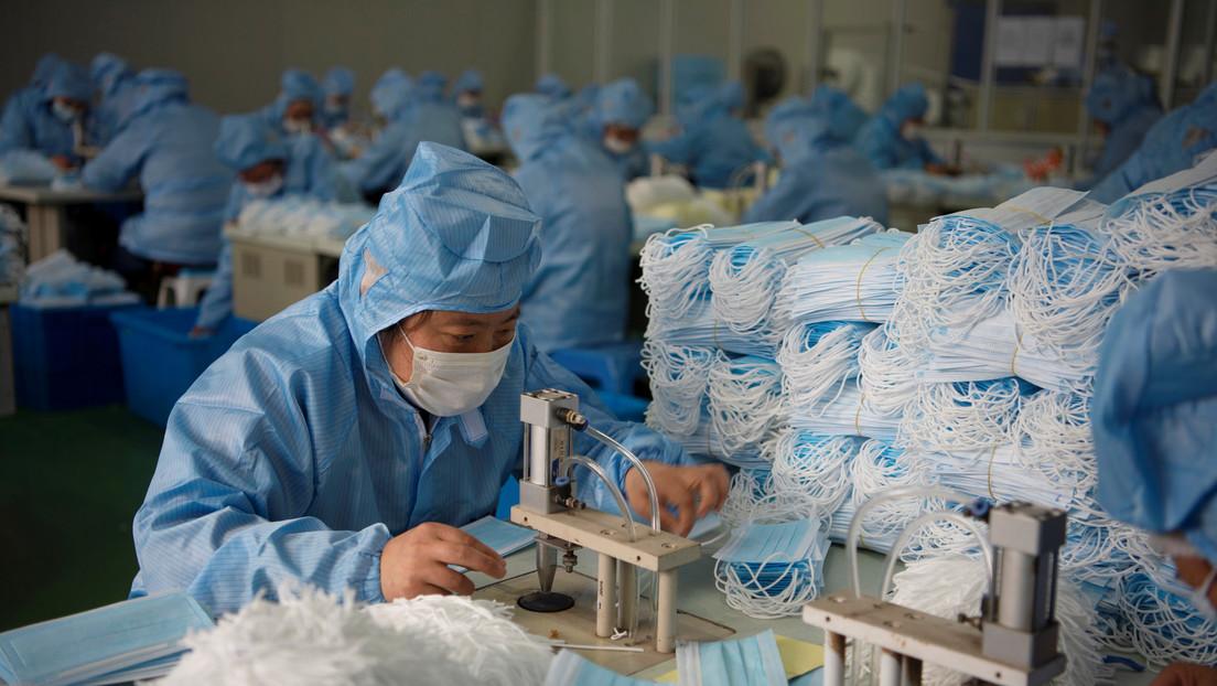 China construirá en seis días una fábrica de mascarillas en medio de la epidemia de coronavirus