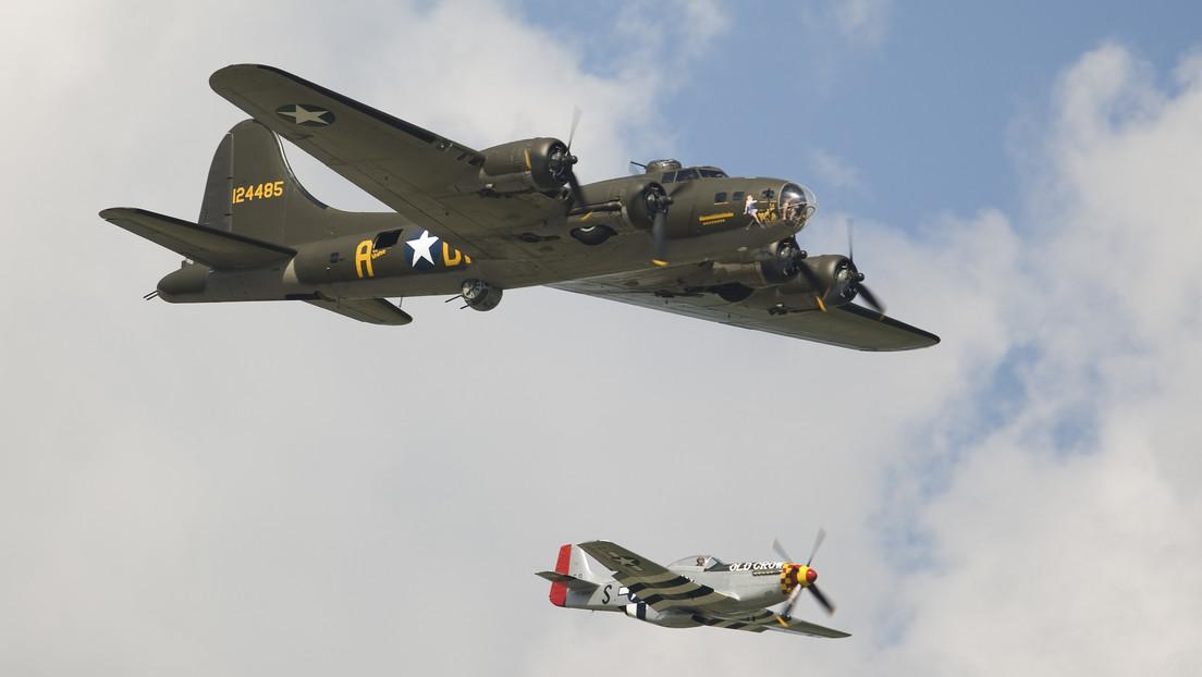 Localizan tres bombarderos de EE.UU. desaparecidos hace 76 años en el Pacífico durante la Segunda Guerra Mundial