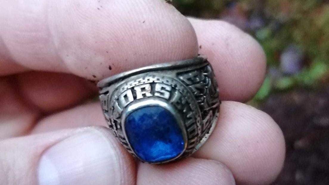 Un anillo perdido en EE.UU. reaparece 47 años después en Finlandia (FOTOS)