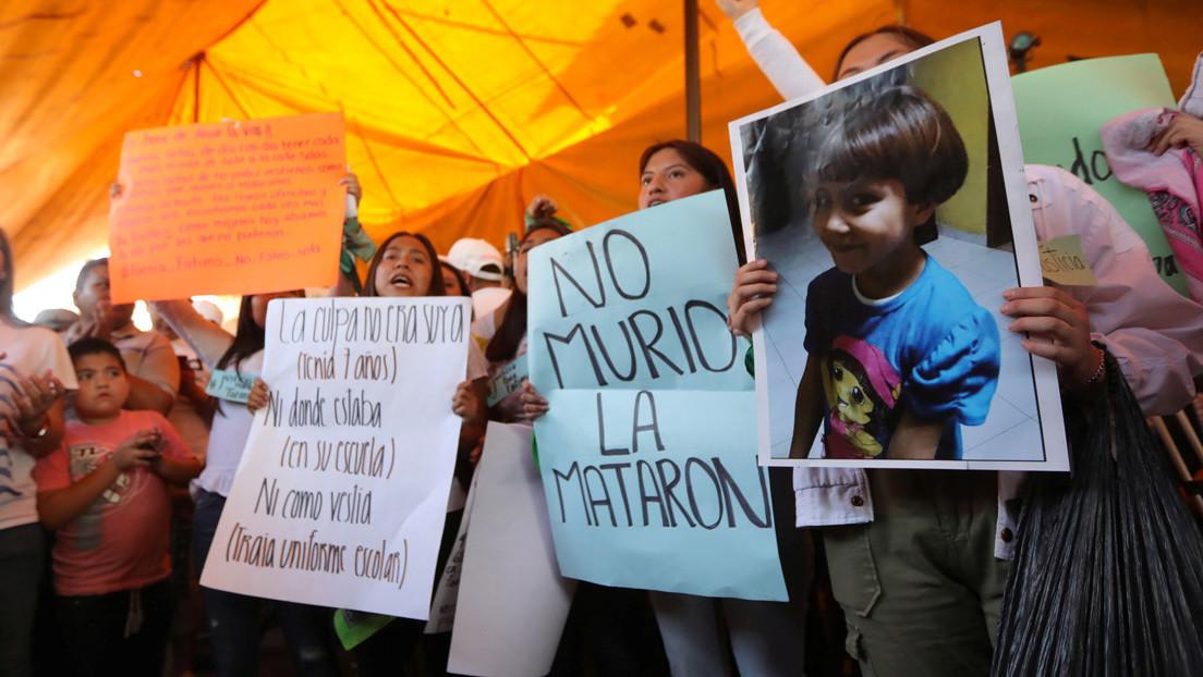 Estupor e ira contra el Gobierno de México tras el asesinato de Fátima, la niña de 7 años que apareció dentro de una bolsa